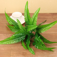 1PC Artificial Plastic Fern Plant Fake Flower Wedding Flower Arrangement Home Decoration