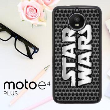 Star Wars Grey R0118 Motorola Moto E4 Plus Case