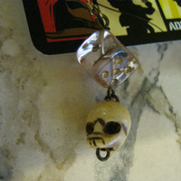Skull Dice Earrings