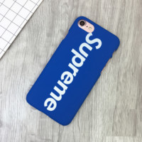 Blue Supreme Print 7 7plus &6 6s Plus Cover Case