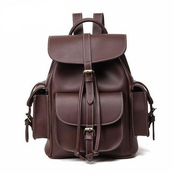 ESBONEJ Designer Leather Backpack Purse