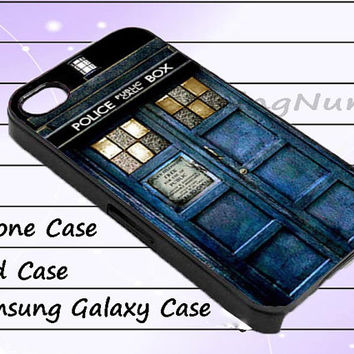 tardis sherlock holmes for iphone 4/4S, iPhone 5/5S/5C, Samsung Galaxy S3/S4, iPod Touch 4/5, htc Case