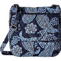 Vera Bradley Double Zip Mailbag Blue Bandana - Zappos.com Free Shipping BOTH Ways