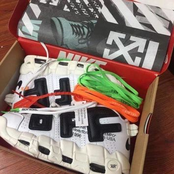 PEAP9IW OFF WHITE X Nike Air More Uptempo Men Sneaker