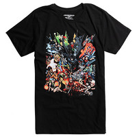 DC Comics Justice League Flying Squad T-Shirt