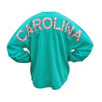 Carolina Palm Spirit Long Sleeve Jersey | Palmetto Moon | Palmetto Moon