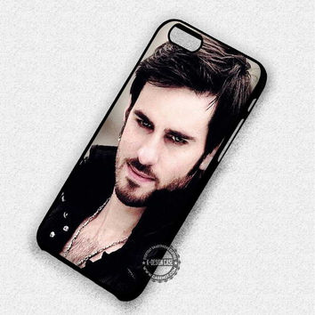 Once Upon A Time Captain Hook Pirate Colin O'Donoghue - iPhone 7 6 5 SE Cases & Covers