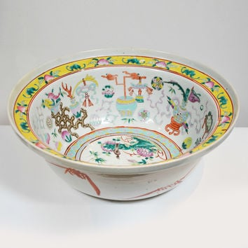 Chinese Bowl (porcelain, antique)