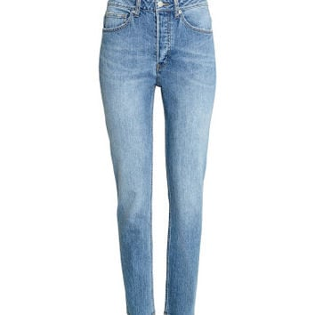 H&M Relaxed High Jeans $39.99