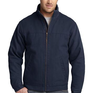 CornerStone Washed Duck Cloth Flannel-Lined Work Jacket. CSJ40