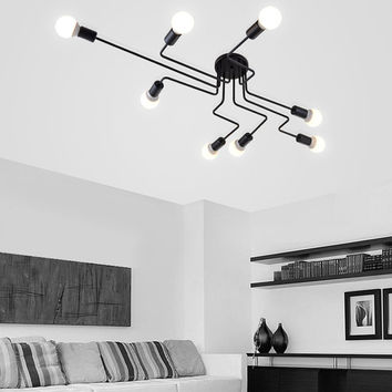 Modern Ceiling Lights (4, 6, or 8 Heads)