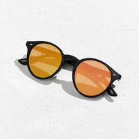 Flat Plastic Round Sunglasses | Urban Outfitters