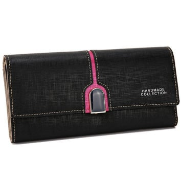 Leather Ladies Bags Fashion Cross Wallet [9248531716]