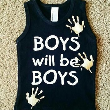 Boys Will Be Boys -Childrens Clothing  - Ruffles with Love - Baby Clothing - RWL Kids