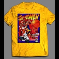 TIM HARDAWAY CARTOON NIKE AD T-SHIRT
