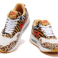 Nike Air Max 1 What The 910772 white yellow Leopard mosquitoes 36-40