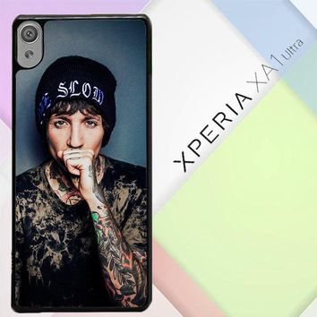Oliver Sykes Bring Me The Horizon And Signature F0543 Sony Xperia XA1 Ultra Case