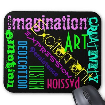 Artistic Expression and Inspiration Mouse Pad