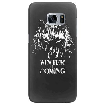 game of thrones direwolf winter is coming Samsung Galaxy S7 Edge