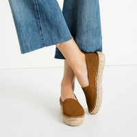 LEATHER ESPADRILLES - View all-SHOES-WOMAN | ZARA United Kingdom