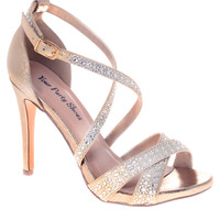 Your Party Shoes Tatum Strappy Formal Prom Sandals