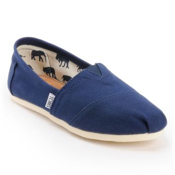 Toms Classics Canvas Navy Slip-On