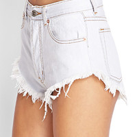Button Fly Denim Cutoffs