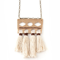 Vanessa Tassel Necklace