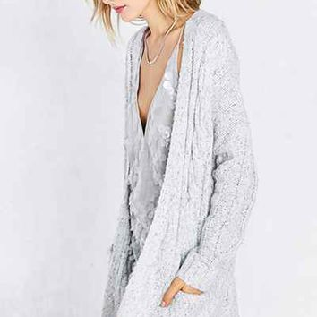 Kimchi Blue Hannah Cable Cardigan - Urban Outfitters