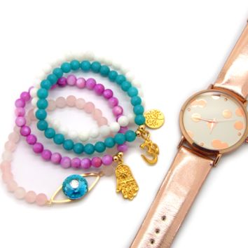 Christmas Gifts! Harmony Bracelet Set + Free Watch!