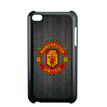 manchester united wood iPod Touch 4 iPod Touch 5 iPod Touch 6 Case