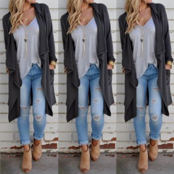 Knitted Lon Casual Cardigan B0014582