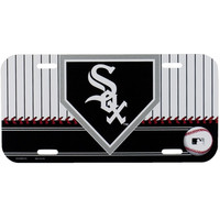 Chicago White Sox - Homeplate Logo License Plate