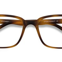 November | Tortoise Plastic Eyeglasses | EyeBuyDirect