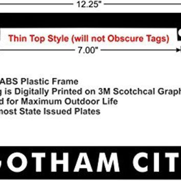GOTHAM CITY Batman Custom License Plate Frame