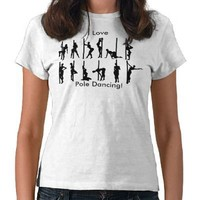 Pole dancing t shirt