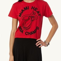 Miami Heat NBA Champs Crop Tee | rue21