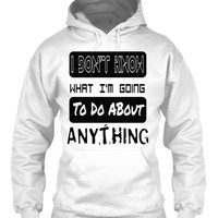 I Don't Know T Shirt