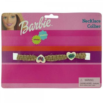 Barbie Groovy Woven Beaded Necklace PC287