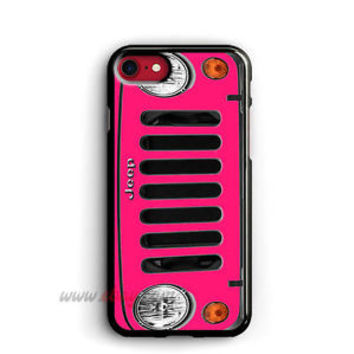 Pink Jeep Front iPhone Cases Jeep Samsung Galaxy Phone Case Jeep iPod cover