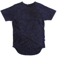 Mineral Wash Original Long T-Shirt Navy