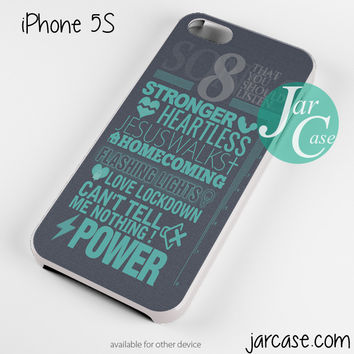 Kanye west quotes Phone case for iPhone 4/4s/5/5c/5s/6/6 plus