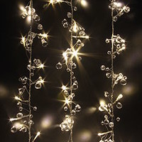 Clear Crystal LED Light Chain