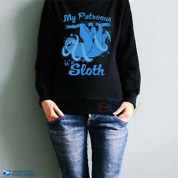 My Patronus Is a Sloth FIX Sweatshirts My Patronus Unisex Sweater Patronus S-5XL