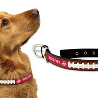 Ohio State Buckeyes Dog Collar - Large