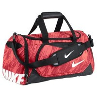 Nike YA TT Small Kid's Duffel Bag - Laser Crimson
