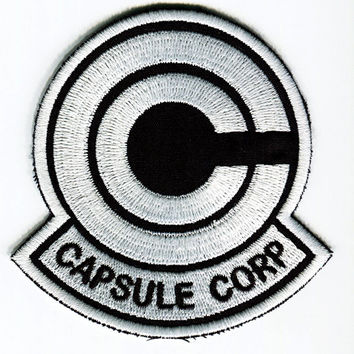 Capsule Corp Emblem Iron On Patch