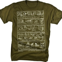 Modern History Industrial Revolution Vintage Illustration Graphic T-shirt