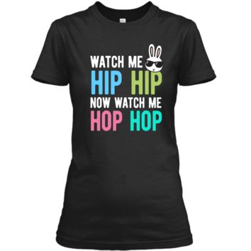 Hip Hop Bunny Shirt Easter Tshirt Boys Girls Kids Cool Bunny Ladies Custom