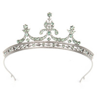 BETTY - Crystal tiara - Mint | Womens | Ted Baker UK
